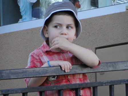A child at Saint James Church