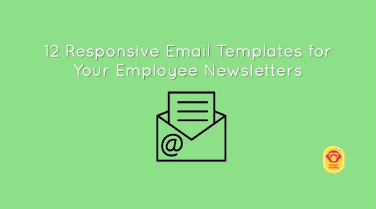 Responsive Email Templates for your Employee Newsletter: 12 Must-Have Options for 2018