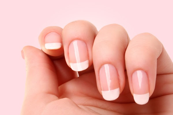 Potted Pinkyrose: How to (tutorial) : Easy `fake` French Manicure