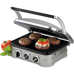 Cuisinart Griddler GR-4 Contact Grill - Brushed Stainless Steel