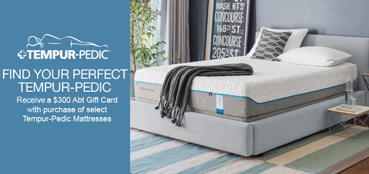 Tempur Pedic Mattresses, Beds, Pillows & More | Abt
