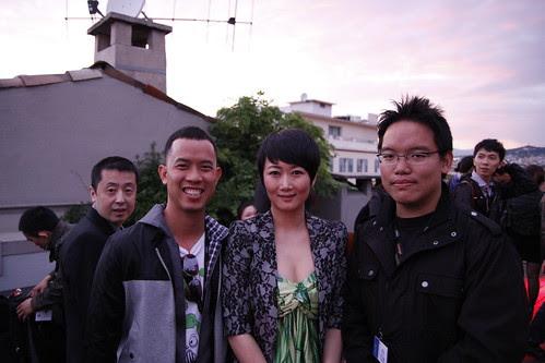 With Zhao Tao and Jia Zhangke