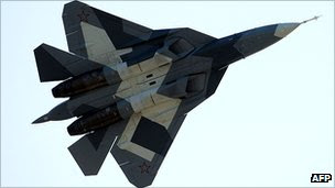 Russian T-50 stealth fighter
