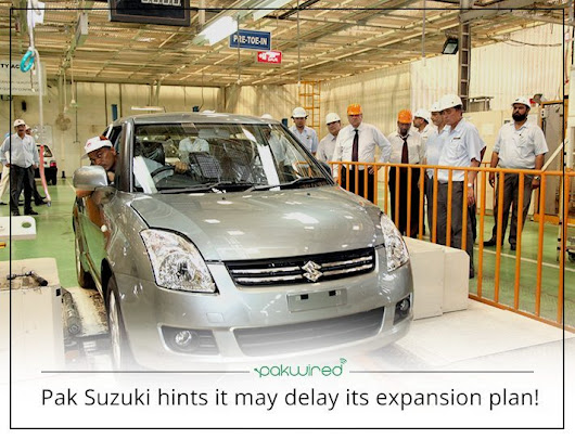 Pak Suzuki Reveals The Expansion Plans May Be Thwarted