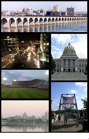 Harrisburg, Pennsylvania photomontage
