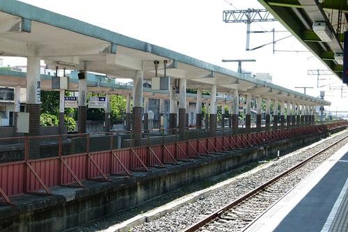 潭子站舊月台
