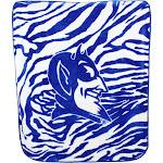 Duke University Blue Devils Blanket 50x60 Raschel Knit Throw Blanket