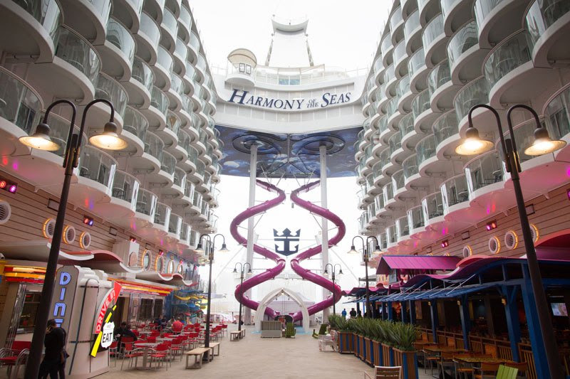 Harmony of the Seas: a bordo do maior navio de passageiros do mundo 04