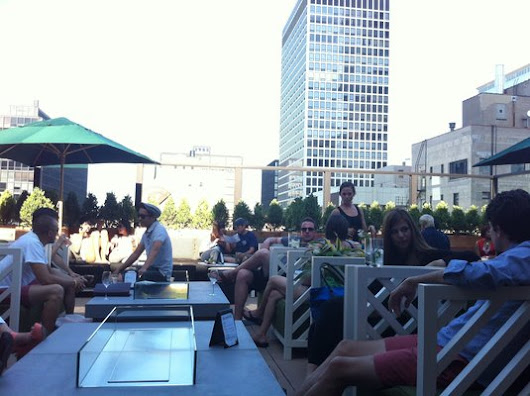 Best of Chicago Roof Top Bars: Part 1 | Holiday Jones
