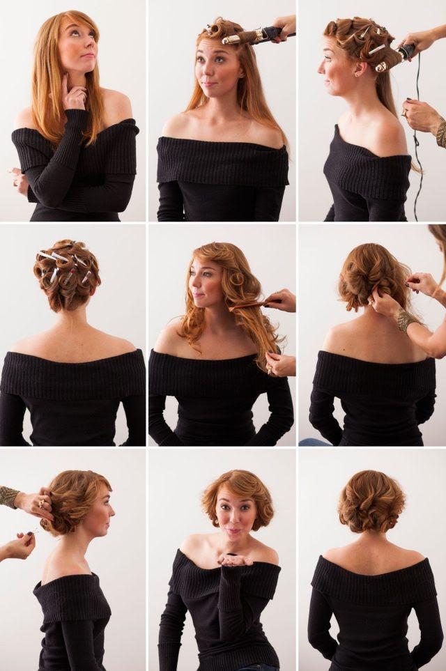 Einfache Rockabilly Frisuren Schnell Lange Haare