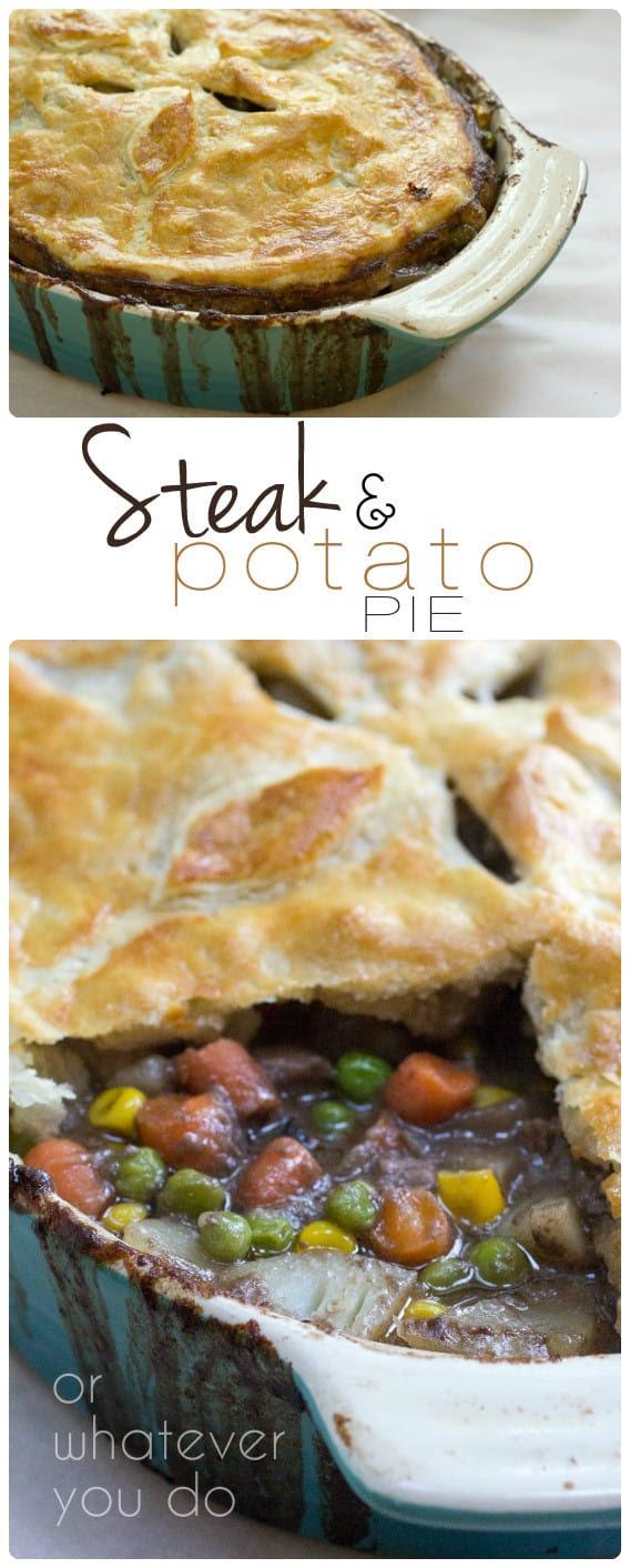 Steak and Potato Pie » Or Whatever You Do