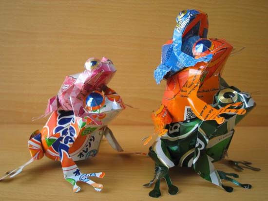 Απίστευτες δημιουργίες από κουτάκια αναψυκτικών (8)