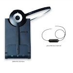 Jabra PRO 920 with EHS Cisco 14201-43 Jabra PRO 920 Mono Wireless Headset
