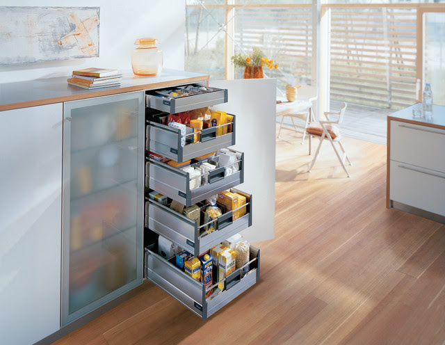 Blum kitchen accessories-storage drawers - contemporary - kitchen ...