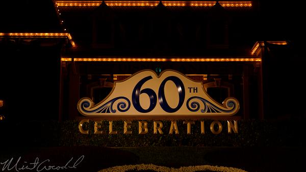 Disneyland Resort, Disneyland60, 60, Anniversary, 24, Hour, Party, Celebration, Kick, Off, Disneyland, Flower, Mickey, Decorations, Decoration, Decor