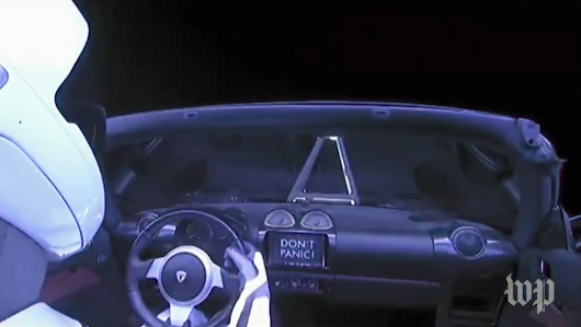 SpaceX Sent A Tesla Into Space And It's Awesome - Deep Core Data