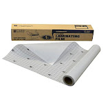 Heavyweight Cleer Adheer Laminating Film Roll, Clear, 24 x 600, 1/BX, 65050