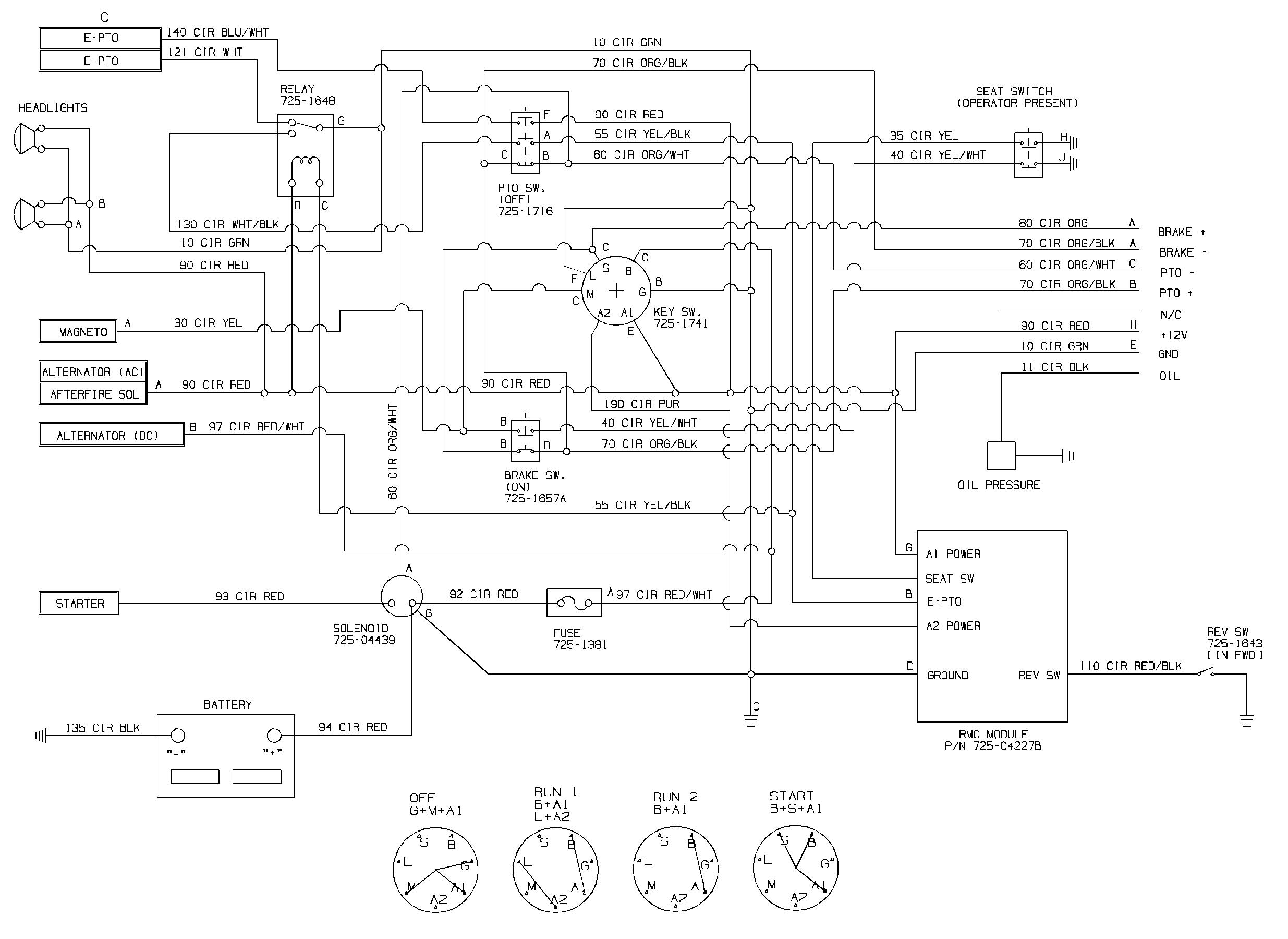 cub cadet 1450 wiring diagram cub cadet ignition switch diagram wiring site resource  cub cadet ignition switch diagram