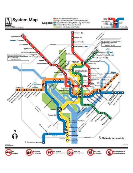 Metro Map Pdf Washington Dc Metro Map Pdf | States Maps