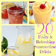 20 Fruity & Refreshing Summertime Drinks You'll Love | FaVe Mom