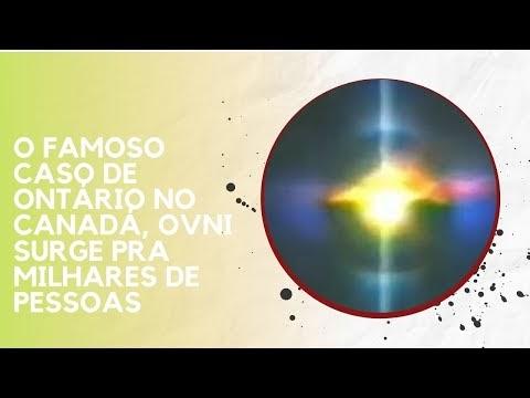 O FAMOSO CASO DE ONTÁRIO NO CANADÁ, OVNI SURGE PRA MILHARES DE PESSOAS