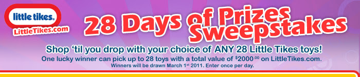 LittleTikes.com February Sweepstakes