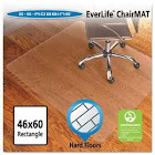 E.S.Robbins EverLife - Chair mat - 46.1 in x 59.8 in - rectangular - clear