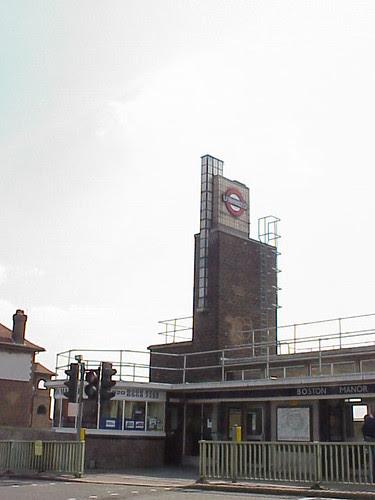Boston Manor Tube Station, London Underground, Piccadilly Line
