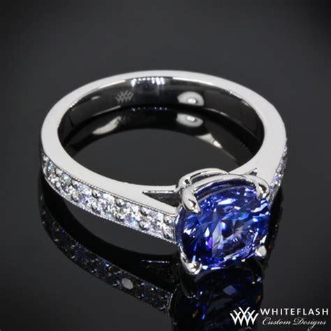 Sapphire Half Eternity Engagement Ring   16001