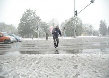 Badai salju. (ilustrasi)