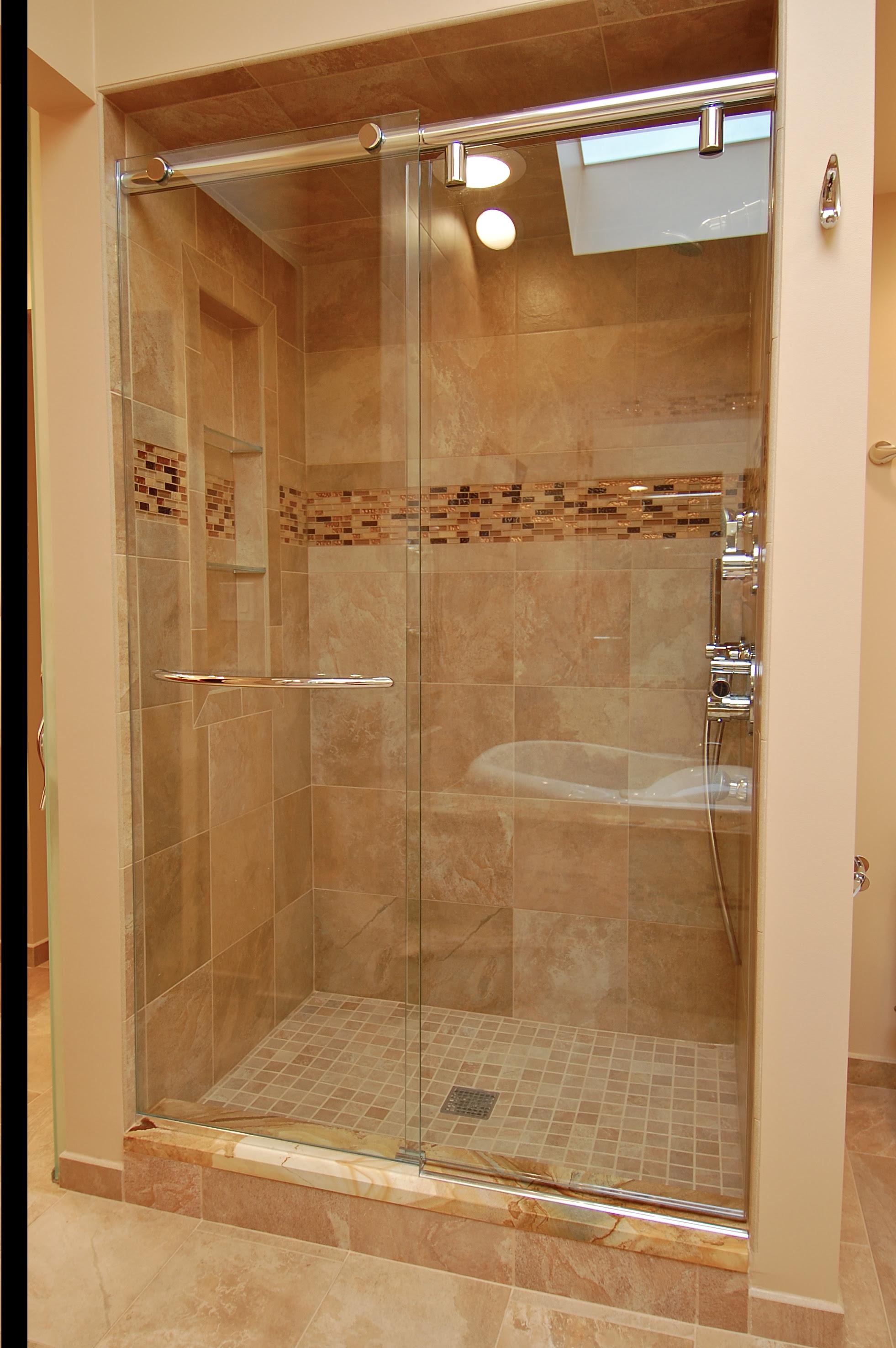 Frameless Shower Doors - Shower Doors Chicago | Mirrors ...