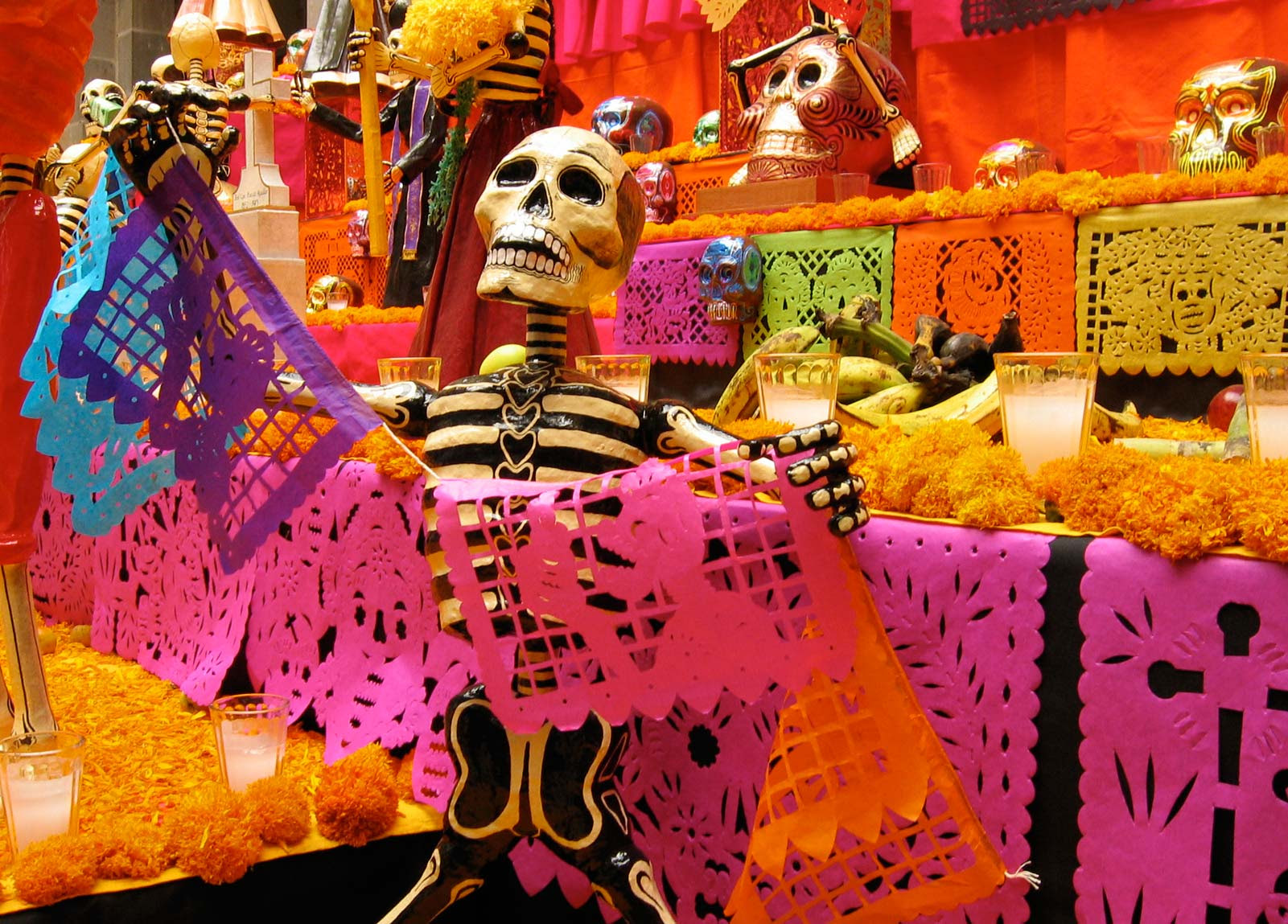 day of the dead mexico tattoo. While Mexico Day of the Dead
