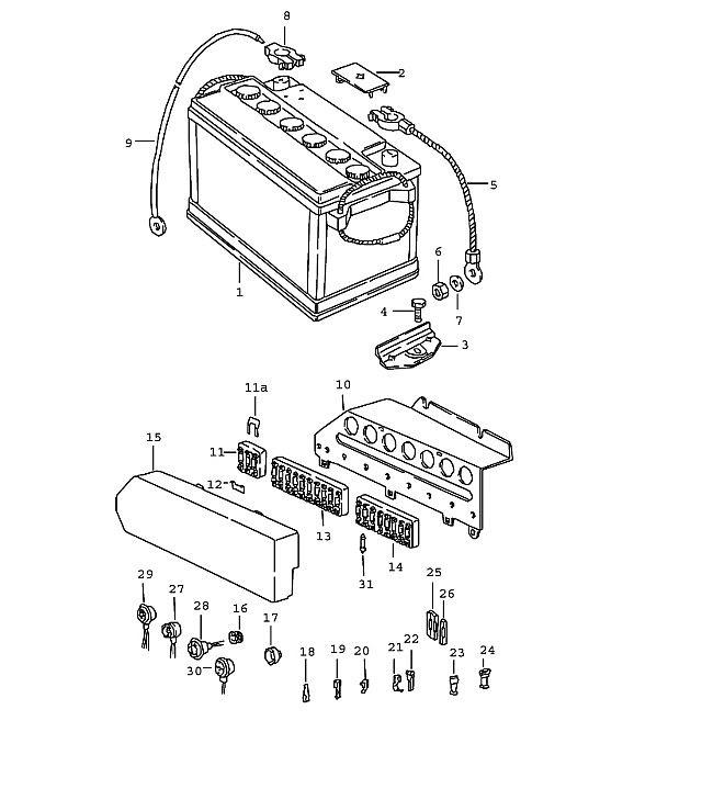Porsche 924 Fuse Box - Wiring Diagram