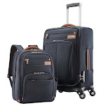 Samsonite Premier II NXT 2-piece Softside Carry-On Spinner Luggage and Backpack Set, Navy