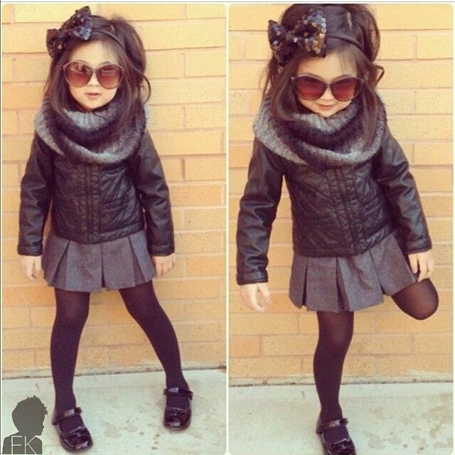 I love this! I hope my future daughters have similar fashion sense. With me dressing them, I'm sure they will ;)