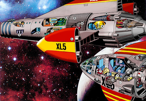 1962 ... 'Fireball XL-5' by x-ray delta one