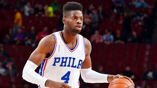 Philadelphia 76ers center Nerlens Noel meets with coach Brett Brown over playing time concerns