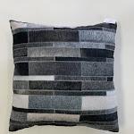 """Vegan Patchwork Printed Decorative Pillow 20"""" x 20"""" / JOY255"""