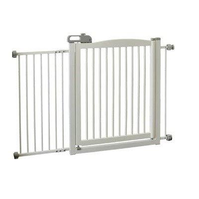 Dog Kennel Gates Extra Wide Tension Mount Pet Gate