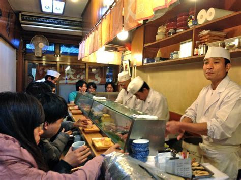 Eating the best sushi ever outside of Tsukiji Fish Market