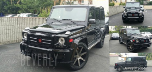 2002 MERCEDES BENZ G500 WALD For Sale - Beverly Motors Inc : Glendale Auto Leasing and Sales. New Car Lease Specials Burbank, Beverly Hills,Hollywood, Pasadena, North Hollywood