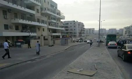 Scene of Beit Shemesh stabbing