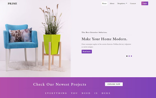 Prime Interior Category Bootstrap Responsive Web Template. - w3layouts.com