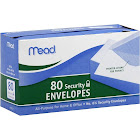 Mead Envelopes, Security - 80 envelopes