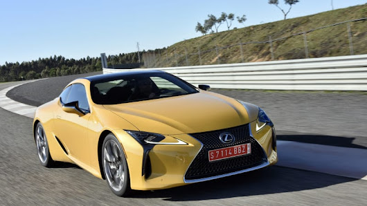 Anything but boring | 2018 Lexus LC 500 First Drive