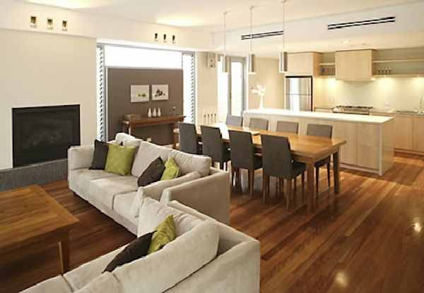 Open Plan Living And Dining Room Ideas Caliber Homes New Homes