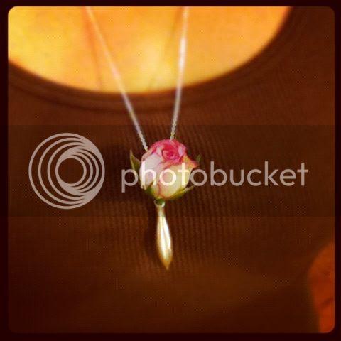 fresh flower jewellery