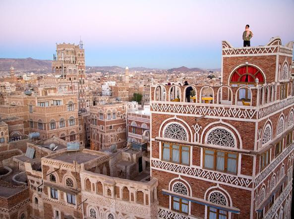 Le meravigliose architetture di Sanaa, capitale dello Yemen