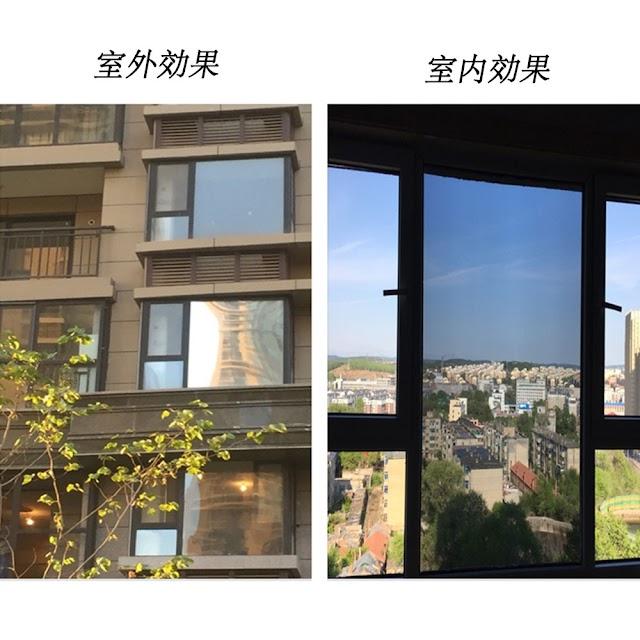 Kopen Goedkoop 0.9x30 M Glasfolie, Zilver Een Manier Film Glas Window Tint Thuis Interieurs Privacy Screen Stickers Zelf Adhesive Huis Online