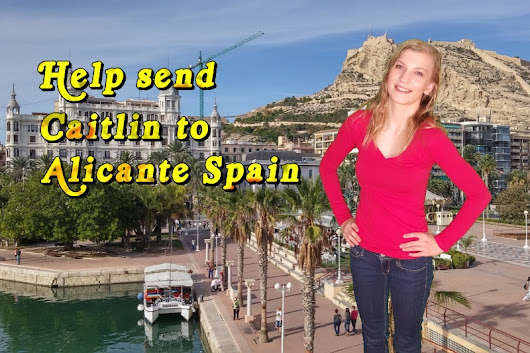 Click here to support Send Caitlin to Spain to Study by Caitlin Jesenovec